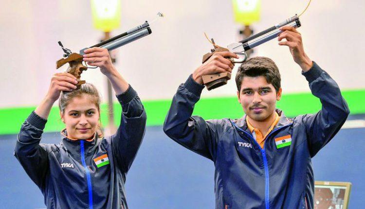 Manu Bhaker and Saurabh Chaudhary ready for Tokyo Olympics