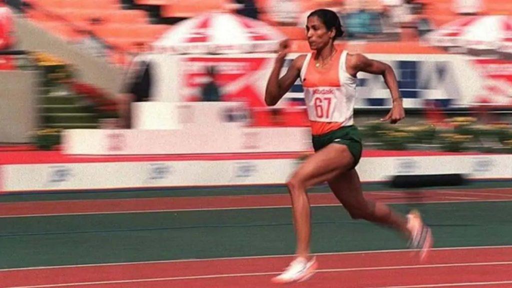 PT Usha - Finished fourth at LA Olympics 1984