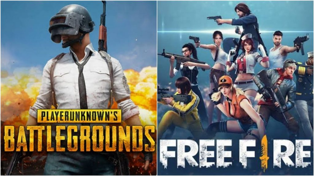 PUBG vs Free Fire - FirstSportz