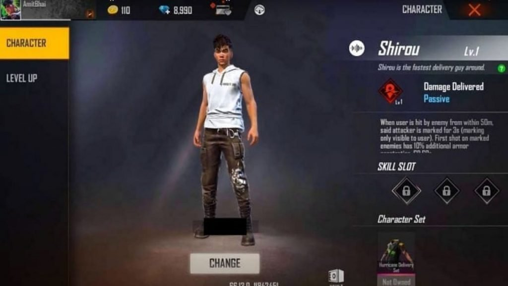 Shirou free fire 2 - FirstSportz
