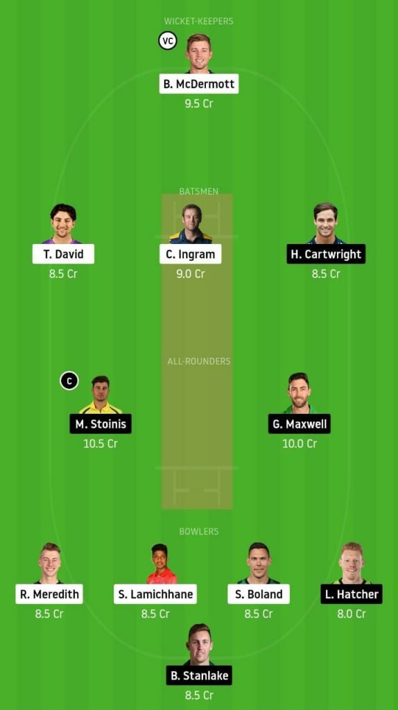 HBH vs MLS Dream11