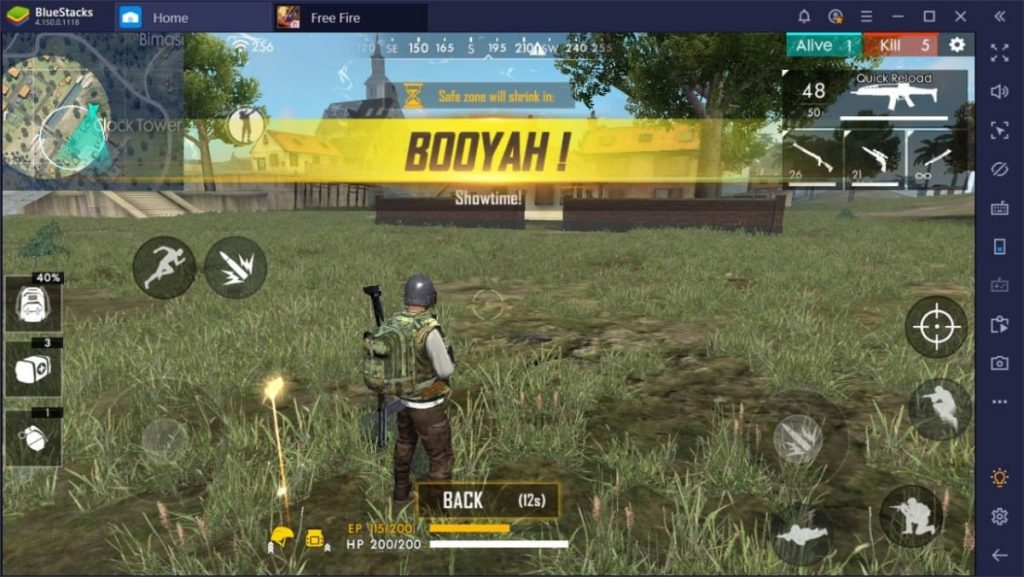 how to play Free Fire on Emulators