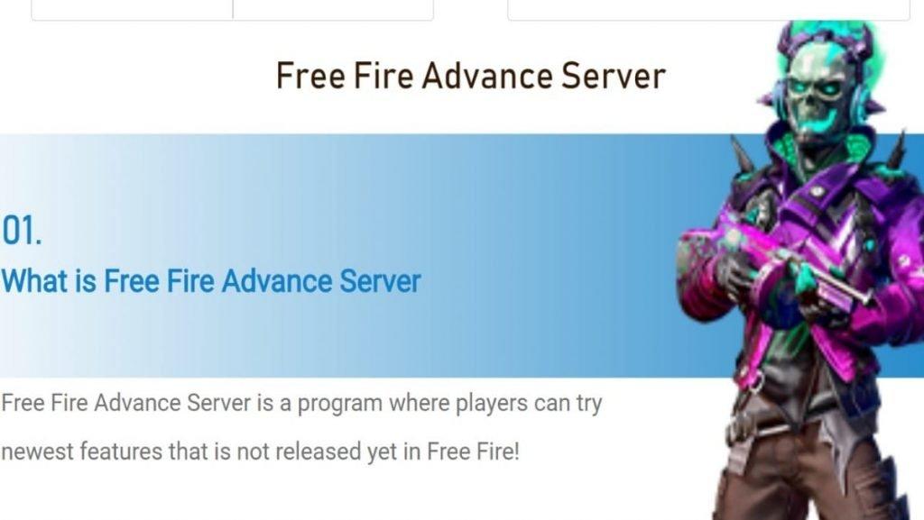 Free Fire Advance Server OB26 Registrations