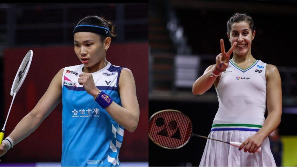 Carolina Marin Tai Tzu Ying Thailand Open Women's singles