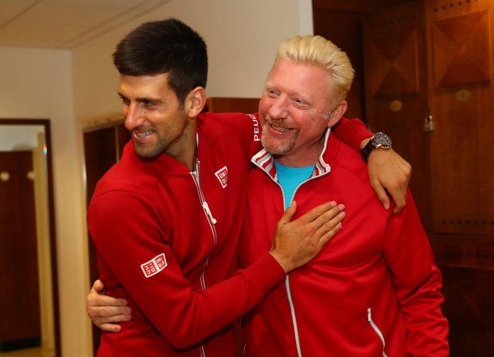 Djokovic and Becker