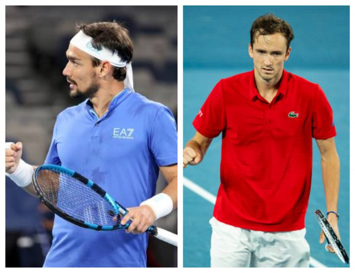 Fognini and Medvedev