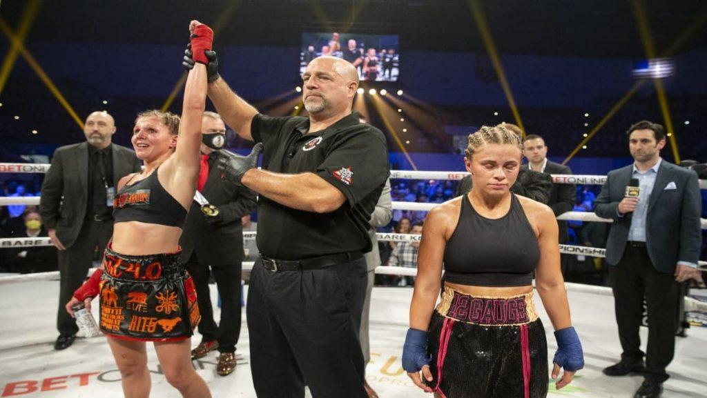 Britain Hart and Paige VanZant - FirstSportz