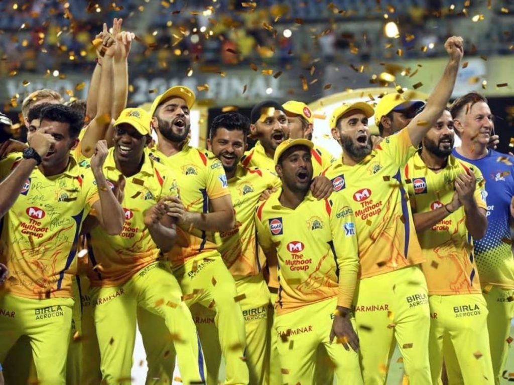CSK IPL 2018 Celebrations