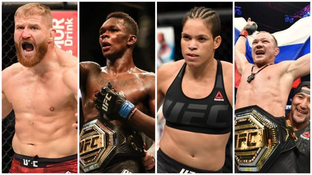Champions fighting at UFC 259 - FirstSportz