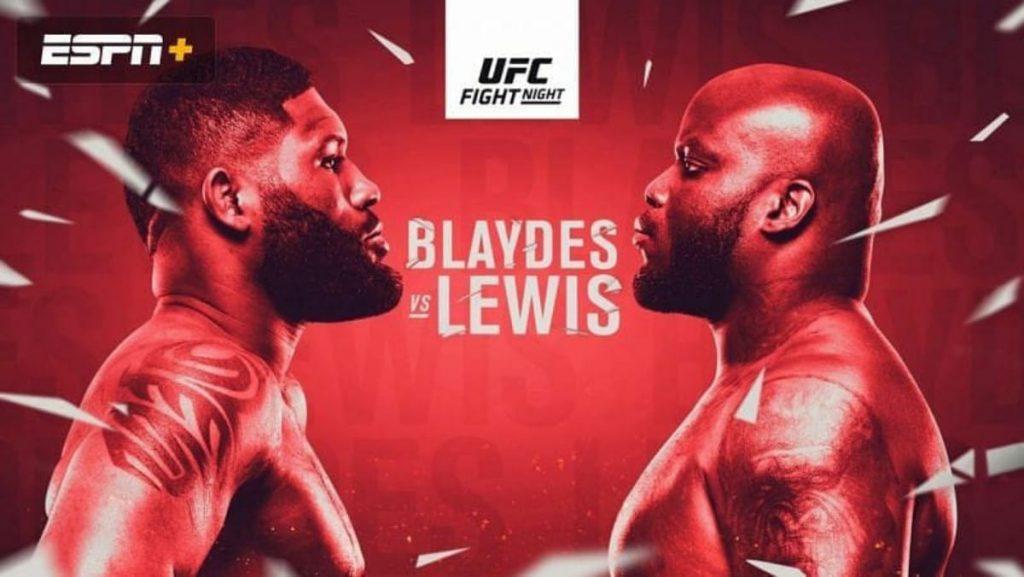Curtis Blaydes Derrick Lewis - FirstSportz