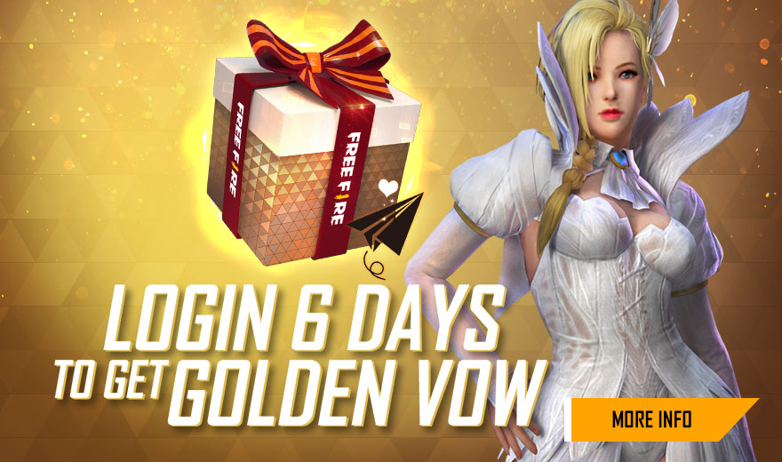 Golden Vow Box in Free Fire