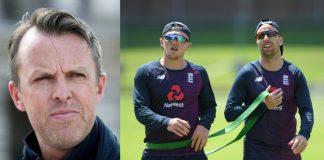 Graeme Swann, Dom Bess and Jack Leach