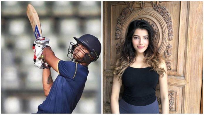 Ishan Kishan and Aditi Hundia