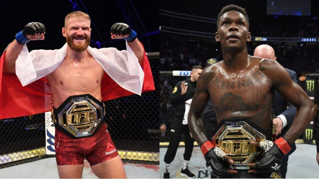 Jan Blachowicz Israel Adesanya 2 - FirstSportz