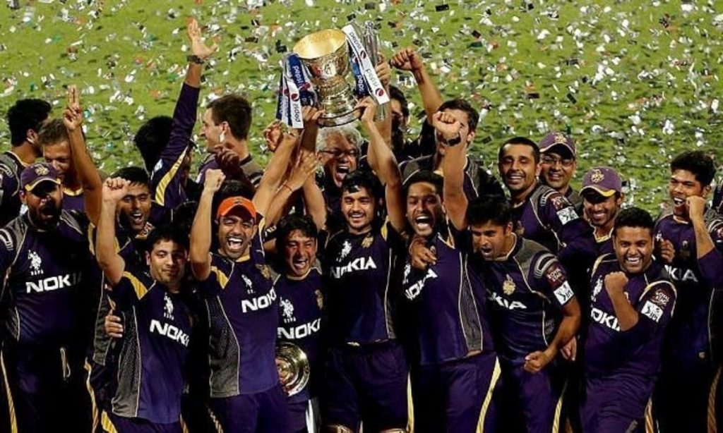 KKR IPL 2014 Celebrations