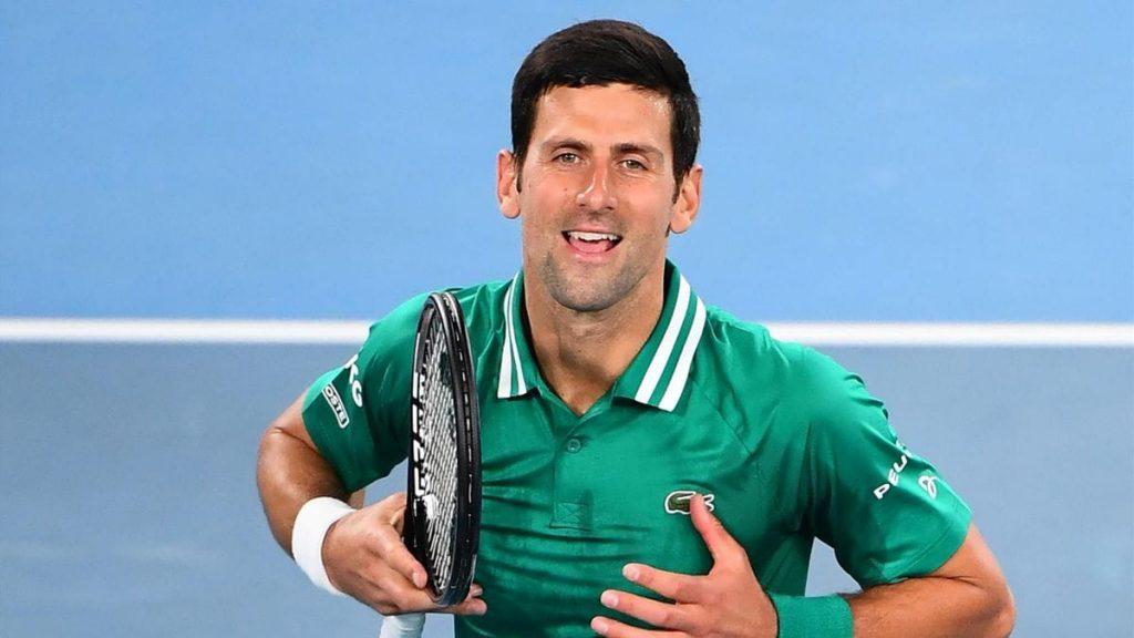 Novak Djokovic AO2021 - FirstSportz