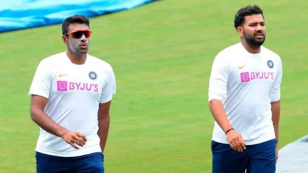 Ravichandran Ashwin and Rohit Sharma
