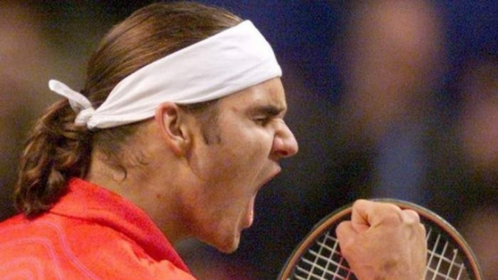 Roger Federer Milan 2001 - FirstSportz