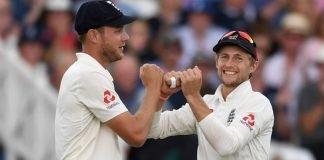 Stuart Broad and Joe Root (ENG vs NZ)