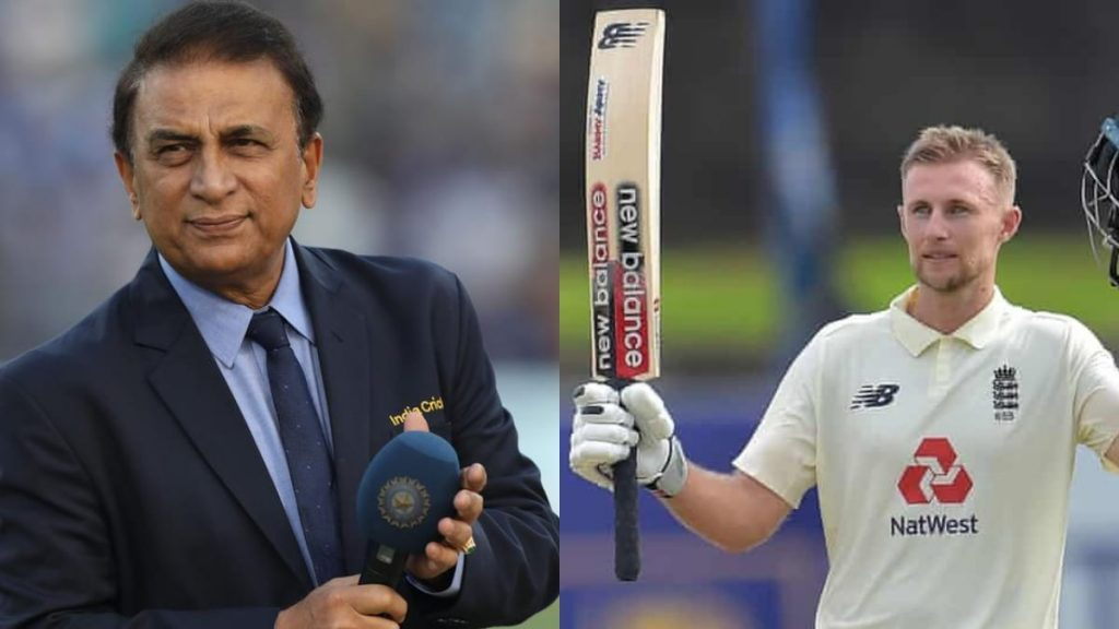 Sunil Gavaskar and Joe Root