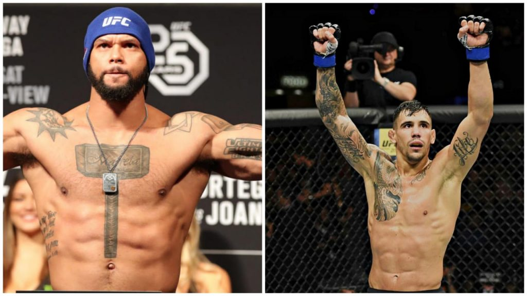 Thiago Santos and Aleksandar Rakic - FirstSportz