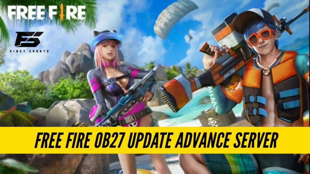 Free Fire OB27 Update Advance Server