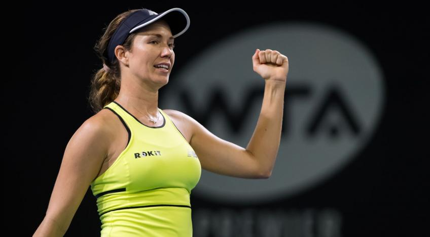 danielle collins top players take step back and realize how good you have it - FirstSportz