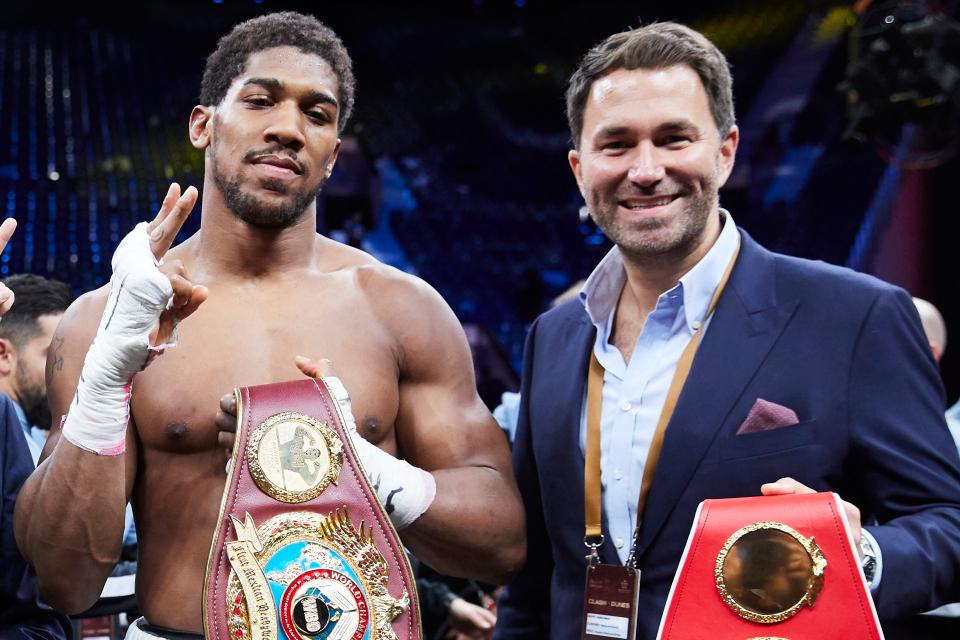 Eddie Hearn : Anthony Joshua vs Tyson Fury