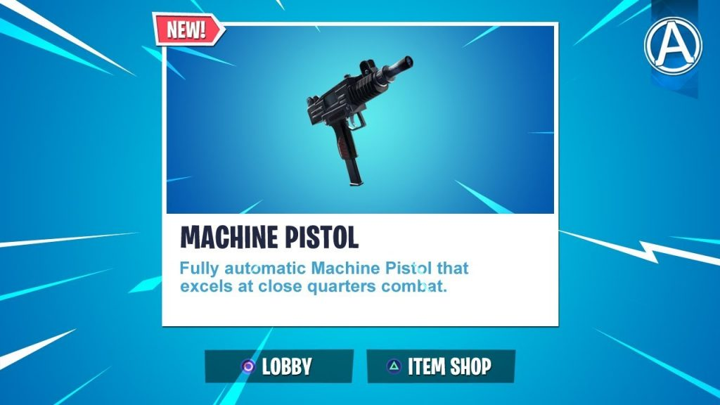 Machine Pistol in Fortnite