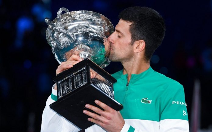 Novak Djokovic australian open titles