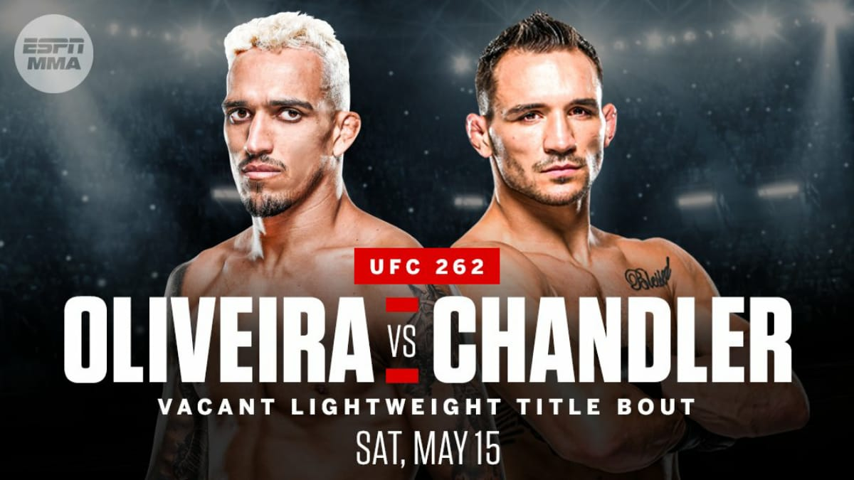 UFC 262: Charles Oliveira vs Michael Chandler booked for the vacant Lightweight title » FirstSportz