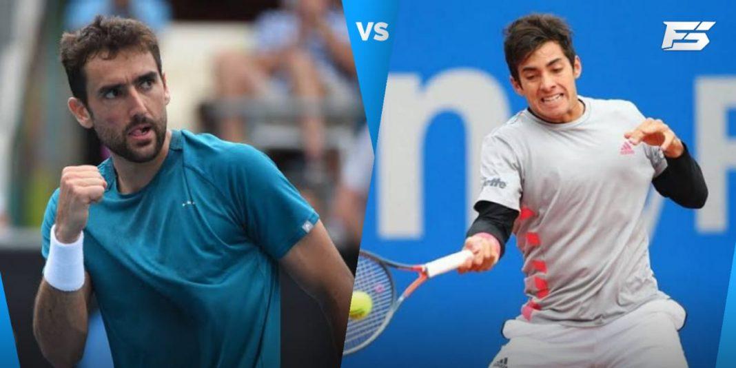 Marin Cilic vs Cristian Garin