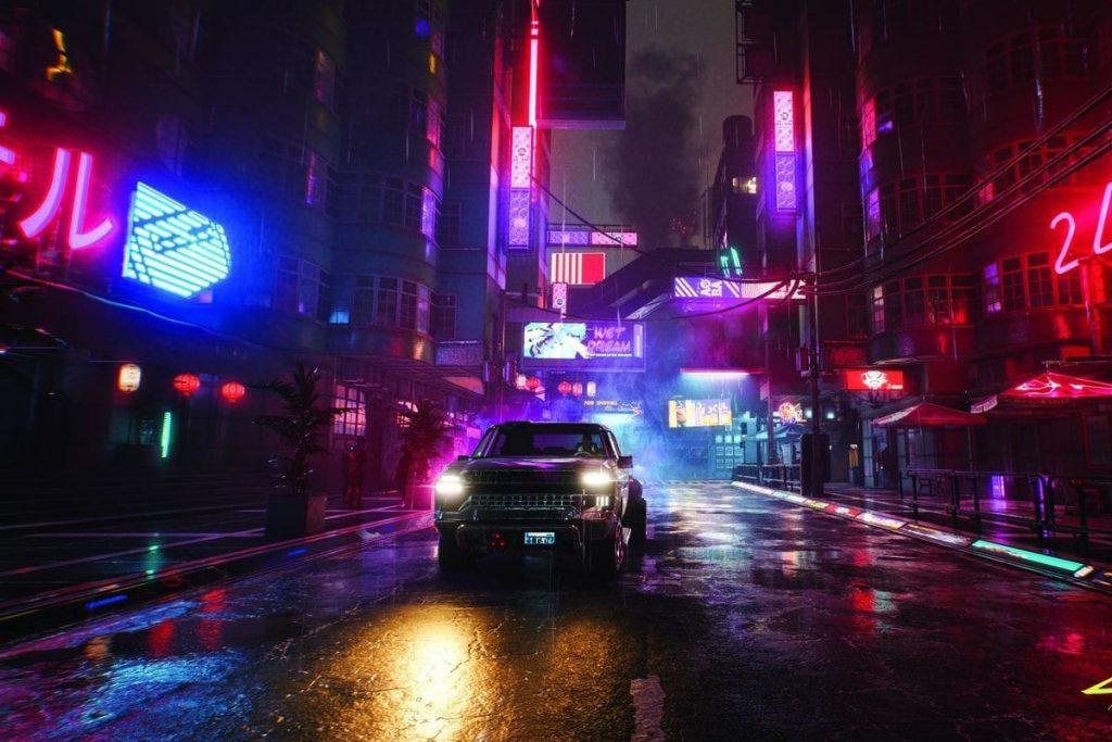 new wall running feature in cyberpunk 2077 mods