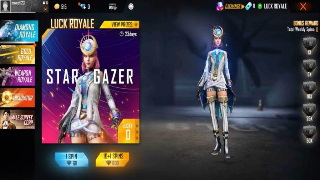 Diamond Royale event - FirstSportz