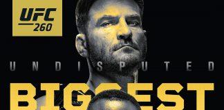 UFC 260 Full Fight Card