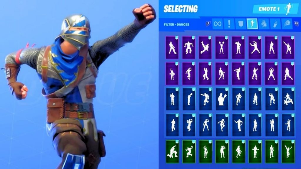 Fortnite Emotes with secret features