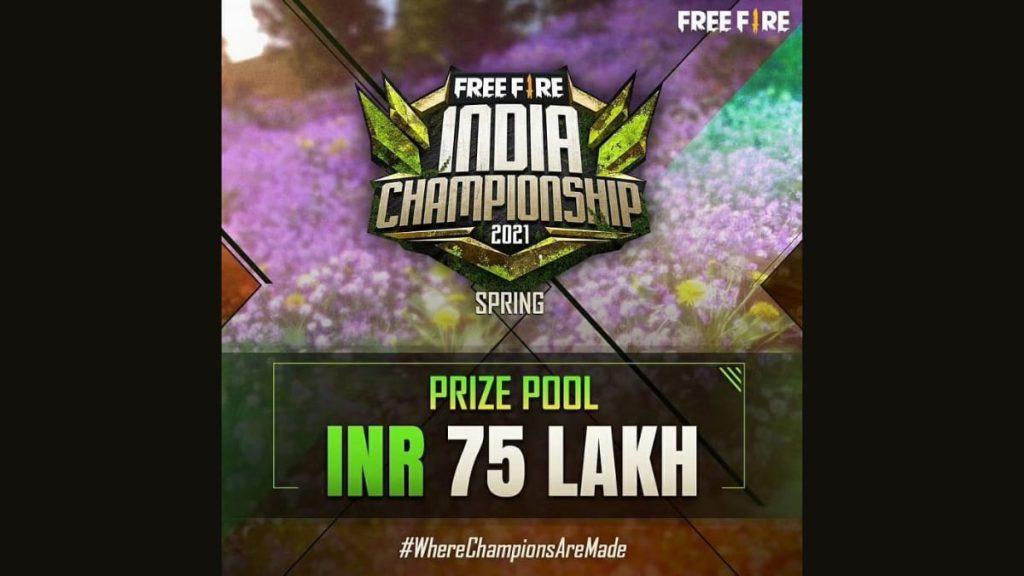 Free Fire India Championship 2021