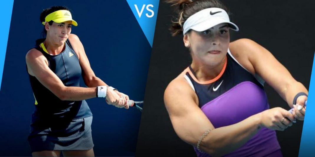 Garbine Muguruza vs Bianca Andreescu