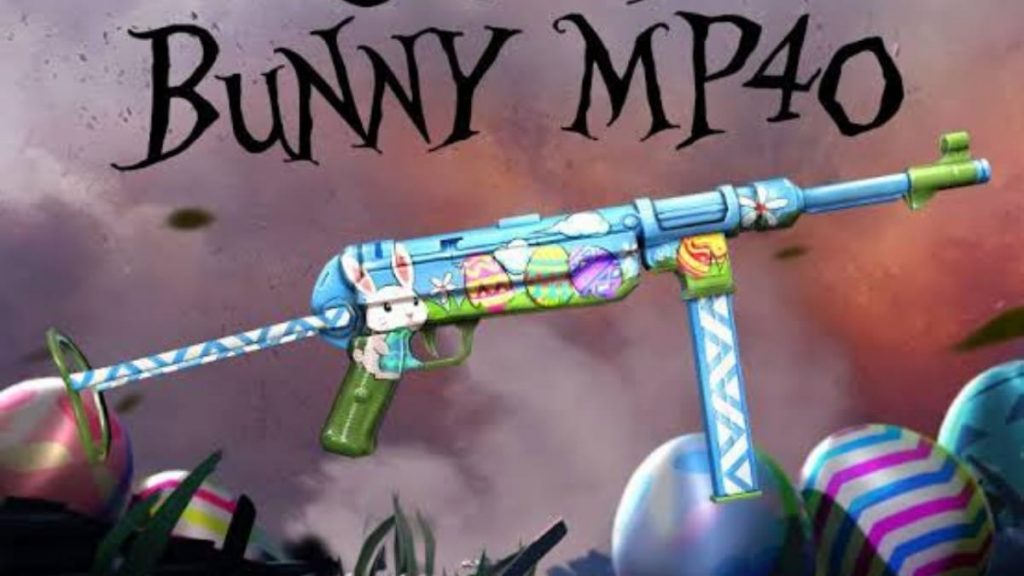 Crazy Bunny MP40 skin
