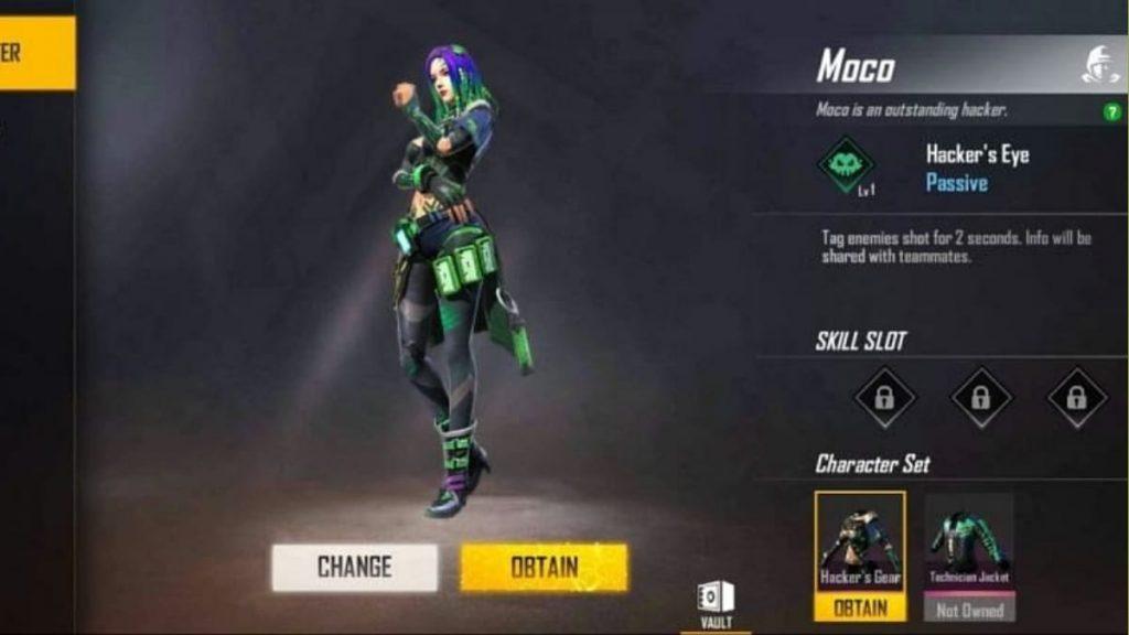 Moco ability