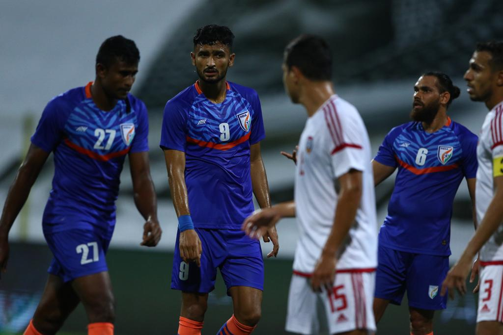 India suffered a 6-0 defeat against UAE