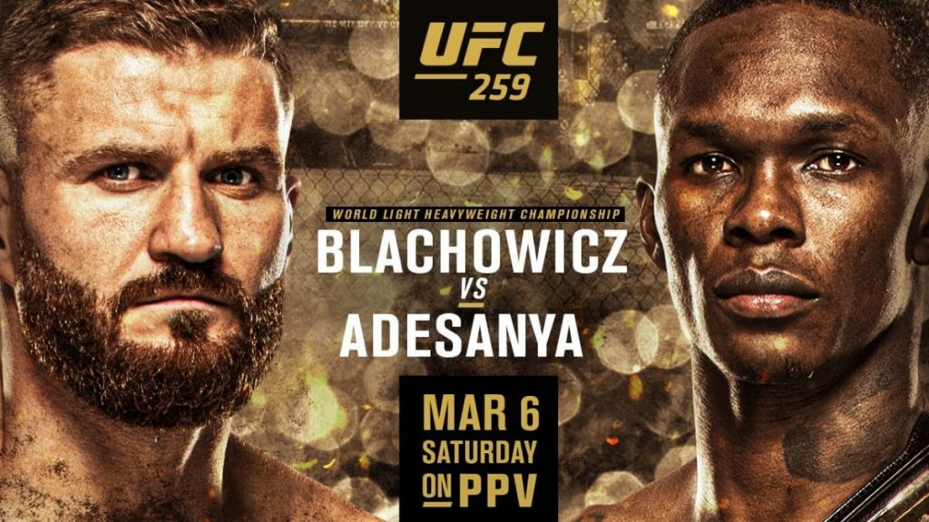 Jan Blachowicz Israel Adesanya - FirstSportz