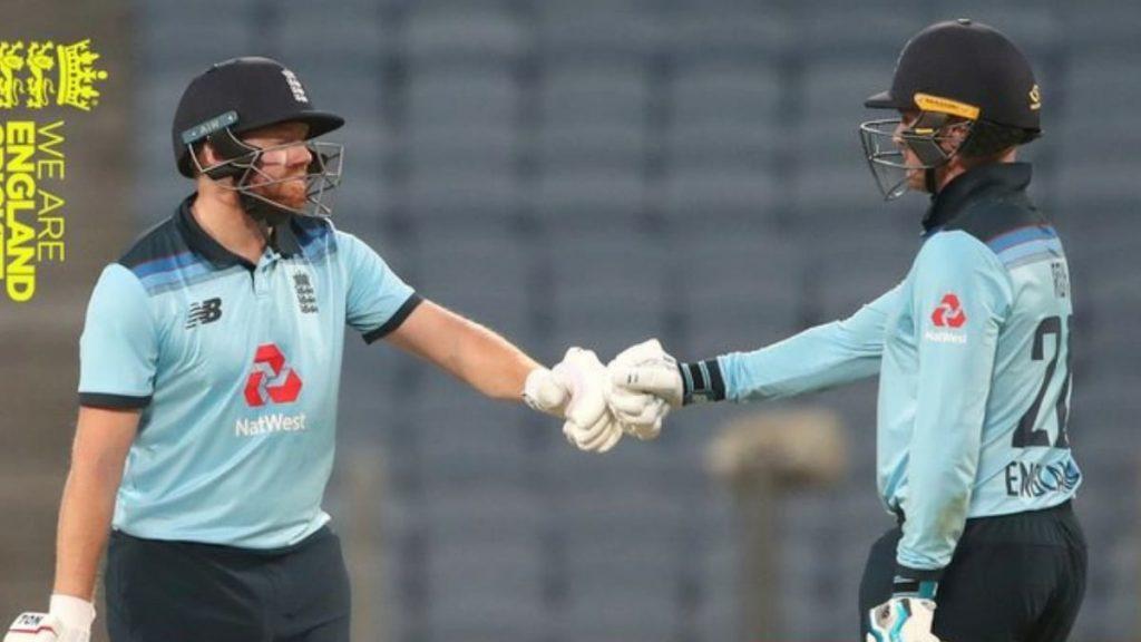 Jonny Bairstow and Jason Roy (Photo - England Cricket Team)
