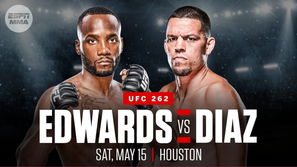 UFC 262: Leon Edwards vs Nate Diaz booked for the co-main event » FirstSportz