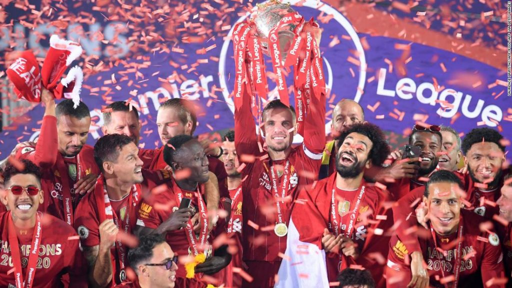 Liverpool are the defending Premier league champions - FirstSportz
