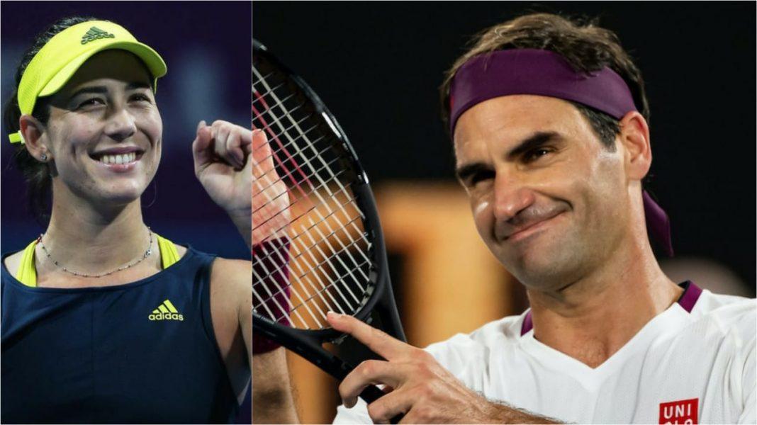 Garbine Muguruza Roger Federer
