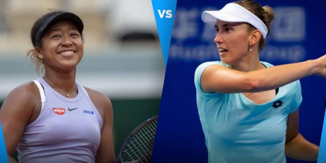 Naomi Osaka vs Elise Mertens