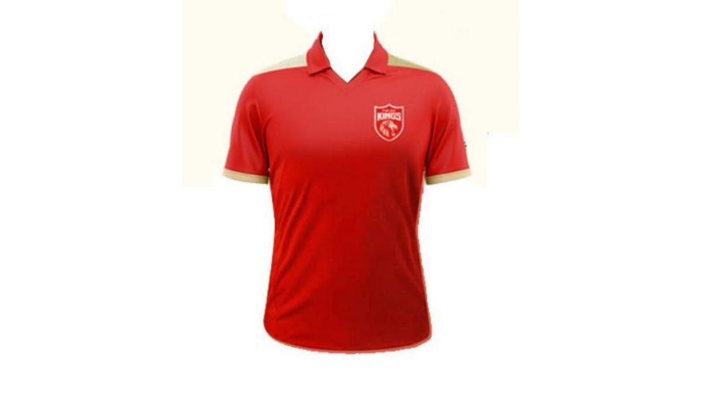 Punjab Kings jersey