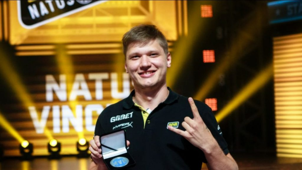 S1mple banned from Valorant