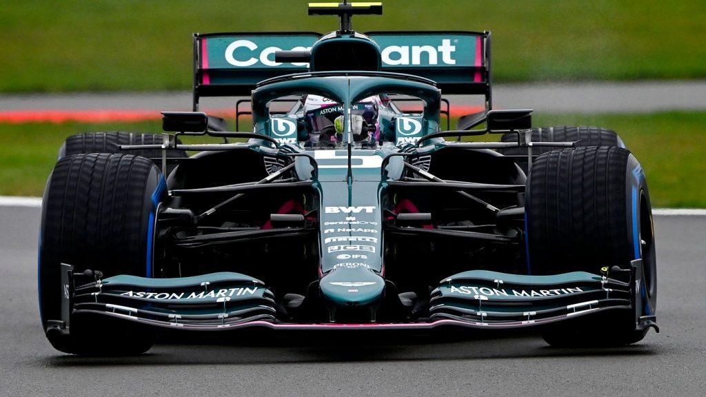 Sebastian Vettel Aston Martin - FirstSportz